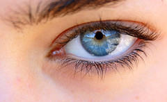 (claudiastr) Tags: blue sky girl beauty amazing eyes occhi universe cieleste