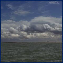 nederland aan de kust (Rogier Coppejans) Tags: sea cloud white color clouds photoshop blauw wolken zee land lucht wit kleur kleuren coppejans cs5