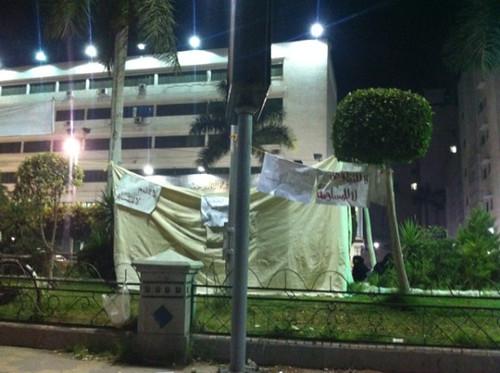 بدأ الاعتصام بطنطا ليلة 8 يوليو