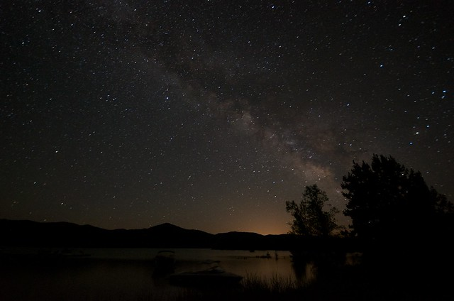 Milky Way Above Trinity Lake