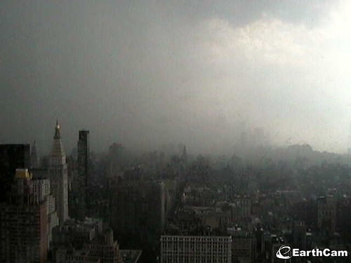 Manhattan Thunderstorm 7 7 2011