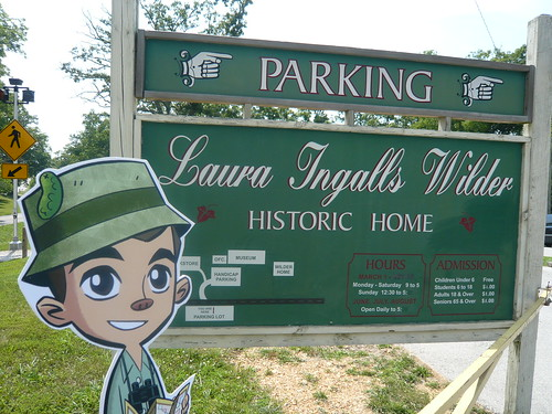 Frankie Pickle Visited Laura Ingalls Wilder's Historic Home