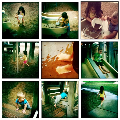 Muddy Feet Collage