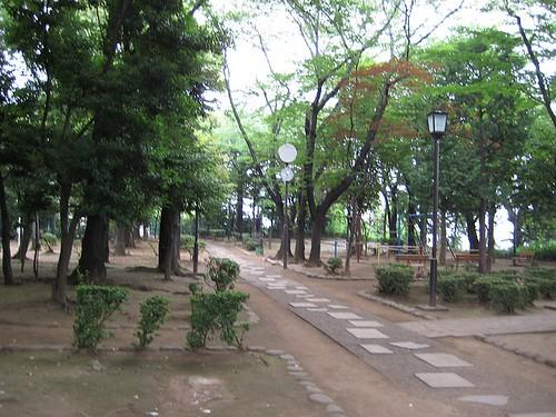 Nishi Nippori park