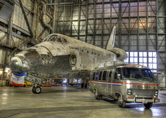 NASA - That's How We Roll (jurvetson) Tags: door building vertical museum smithsonian open space center days vab final shuttle ksc discovery kennedy assembly nasm decommissioning matedemate