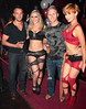 Tallifornia's Philly and Jay with Emma Murphy and Jo Simpson Hush nightclub at the Red Cow Complex celebrates it's 5th birthday Dublin, Ireland