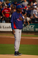 Ron Washington - Manager of the Texas Rangers (J.R.Photography) Tags: canon texas baseball manager rangers roundrock 100400mm roundrockexpress ronwashington