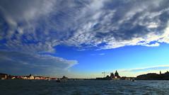 Venice (AdjaFong) Tags: sky lagune skyline clouds evening sonnenuntergang sundown venedig flickrduel