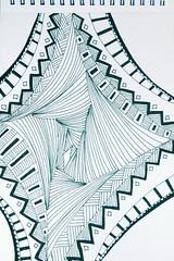 diamond (Kim Lou79) Tags: doodleart zentangle