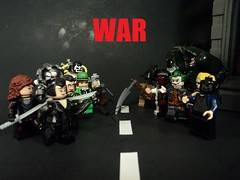 Gotham City Wars (billbobful) Tags: city two woman black face cat al lego mask mr scarecrow dent harley fries killer freeze harvey batman quinn croc joker mister talia wars crow gotham scare hush bane ras catwoman riddler twoface gcw ghul