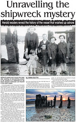 Ardrossan&Saltcoats Herald 21-12-2012 (StevieC - Photography) Tags: uk sunset sea seascape history landscape island scotland sand published ship scottish shipwreck sunburst ripples wreck ayrshire steviec ardrossansaltcoatsherald