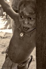 Enfant Himba (Darth Jipsu) Tags: people gens awesome sepia black white noir et blanc himba namibie namibia namibien namibian
