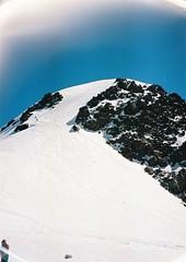 (Nikolay Kulivets) Tags: 35mm film olympusmjuii mjuii kodak georgia peak kazbek caucasus alpinism snow rocks