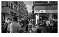Cologne People & Visitors (03) (MvMiddendorf) Tags: street cologne bw people locals visitors heat summer faces