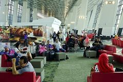 Waiting lounge for passengers (A. Wee) Tags: jakarta  indonesia  airport  cgk soekarnohatta terminal3