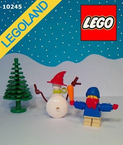 LEGO 10245 Building a snow man impulse