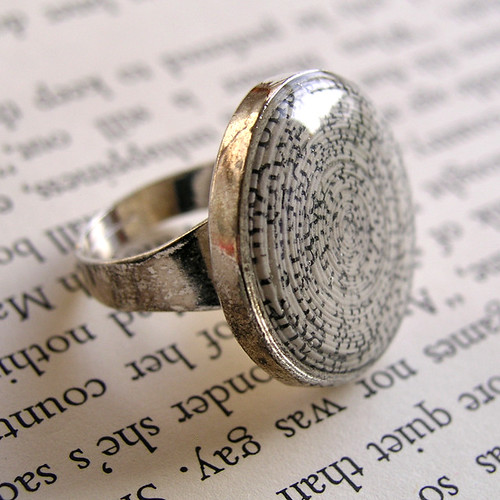 Book Lovers Ring