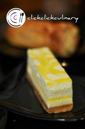 Jazzy Lemon Cheese Cake