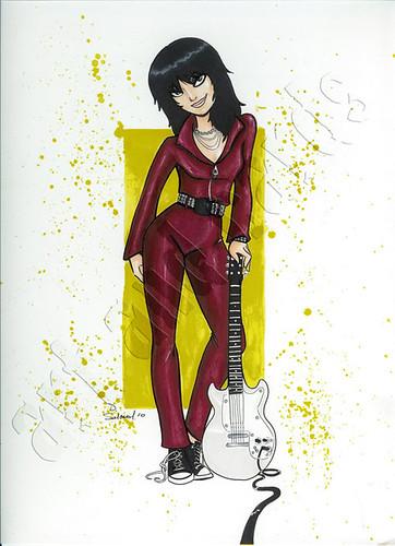 Joan Jett - by Danielle Soloud
