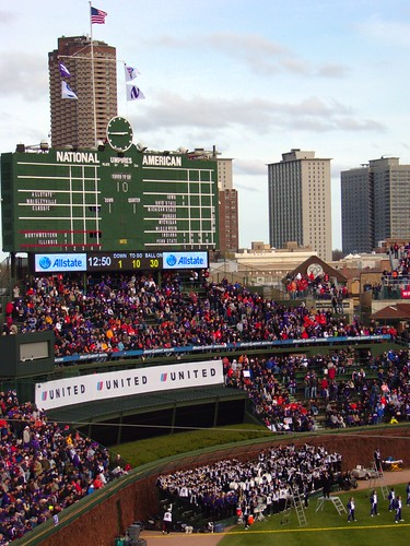 Wrigley, as part of the cityscape