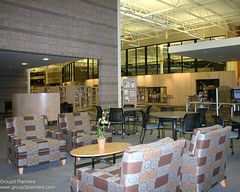 """Cafe (Group3 Planners, LLC) Tags: architecture colorado furniture library leed planning programming interiordesign publiclibrary rangeview spaceplanning farms"""" rangeviewlibrarydistrict """"wright anythink libraryplanning group3planners sharonrowlen marygulash spaceprogramming furniturespecification"""