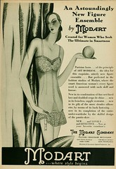 Vintage Advert for Modart Corsets - Photoplay March 1929 (CharmaineZoe) Tags: 1920s vintage magazine advertising ad advertisement nostalgia advert product photoplay twenties filmmagazine
