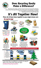 Farmington Curbside Recycling Guide (TheTransitCamera) Tags: city minnesota single instructions guide recycling mn sort farmington curbside