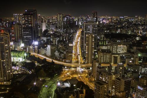 フリー写真素材, 建築・建造物, 都市・街, 高層ビル, 夜景, 日本, 東京都,