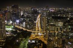 [フリー画像] 建築・建造物, 都市・街, 高層ビル, 夜景, 日本, 東京都, 201012021900