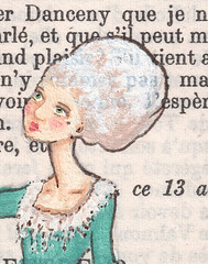 Audiette - Detail (Jesspurrr) Tags: france vintage painting book revolution page etsy 1700s dangerousliaisons eighteenthcentury