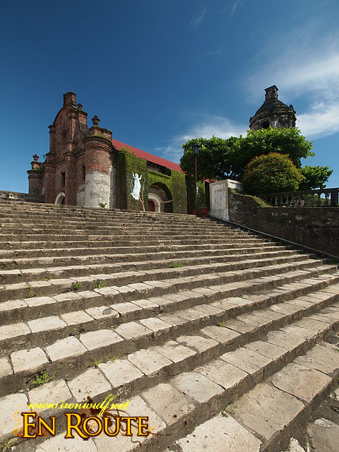 A flight of 83 Granite Stairs