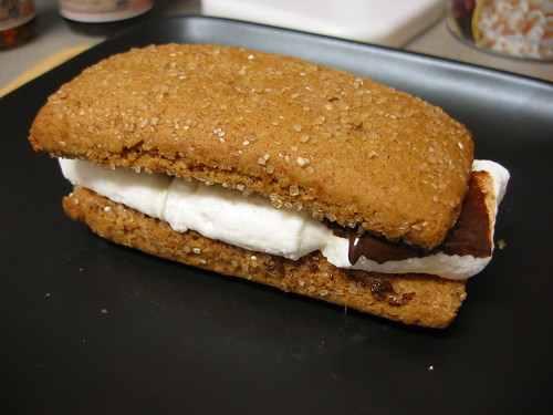Vegan S'more Cookie Sandwich