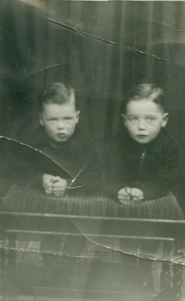 Charlie Buddo and John Buddo 1939