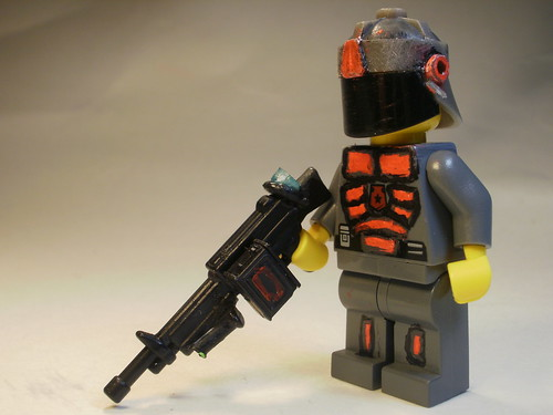 Space Police Heavy Gunner