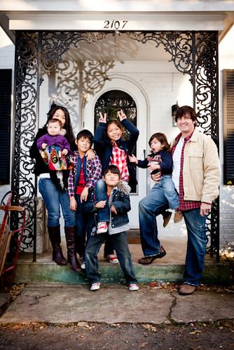 Bill and kids 2010