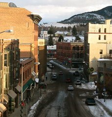 6th Avenue,Helena,Montana (montanatom1950) Tags: windows winter streets buildings reflections montana downtown doors cathedral historic helena 6thavenue historicbuildings helenamontana