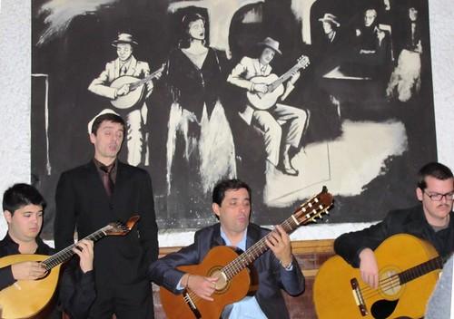 Portuguese Fado music at Luso Cafe in Lisbon #3 by RennyBA