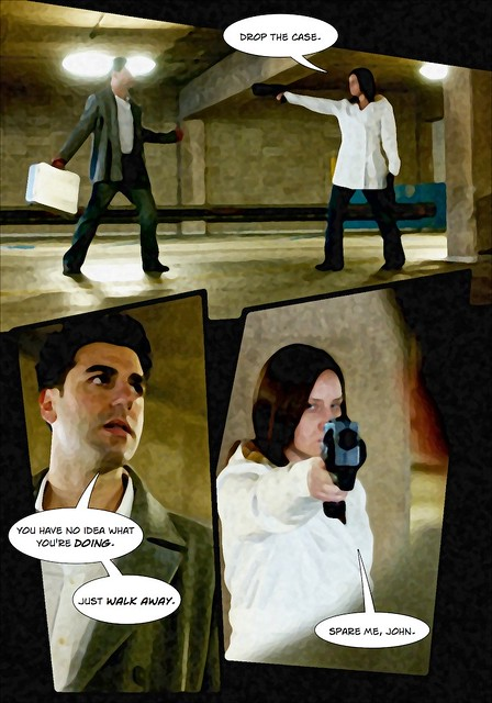 Amber & Nick Action Shoot - Comic, Page 2 of 6