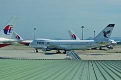 Iran Air Boeing 747 at Kuala Lumpur International Airport (UweBKK ( 77 on )) Tags: airplane airport asia iran kul aviation sony air terminal international airline malaysia kuala boeing southeast alpha dslr klia 747 lumpur 550