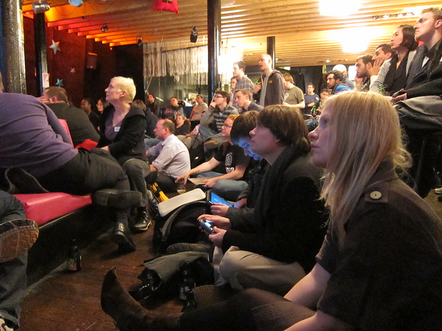 Attendees at GameOn10 in London