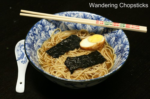 Torigara Shoyu (Japanese Soy Sauce Chicken) Ramen 10