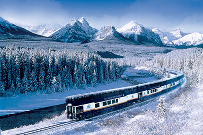 Vancouver To Whistler Train In Winter Ridebooker