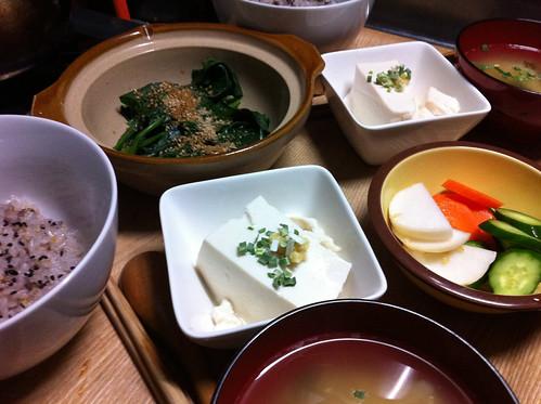 Tofu Teishoku