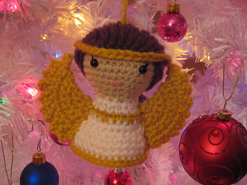 Sweet Angel Amigurumi Ornament and Doll
