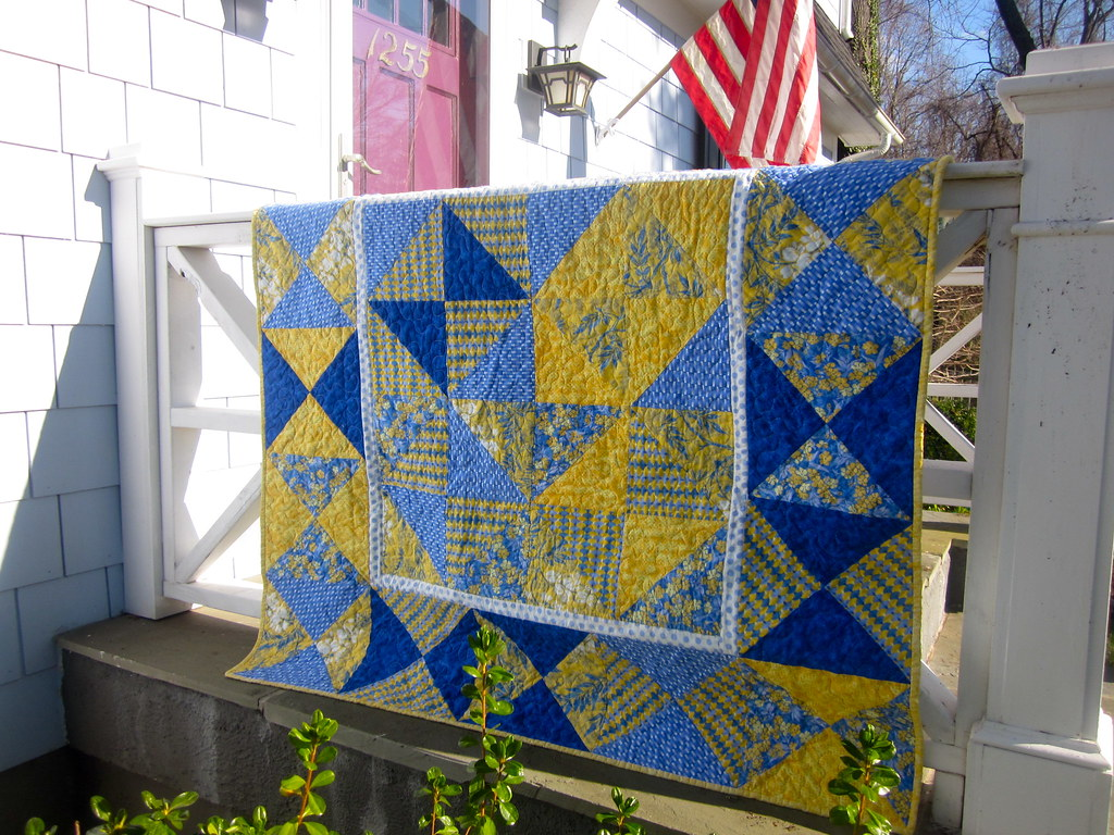 The Quilt Made with Luck