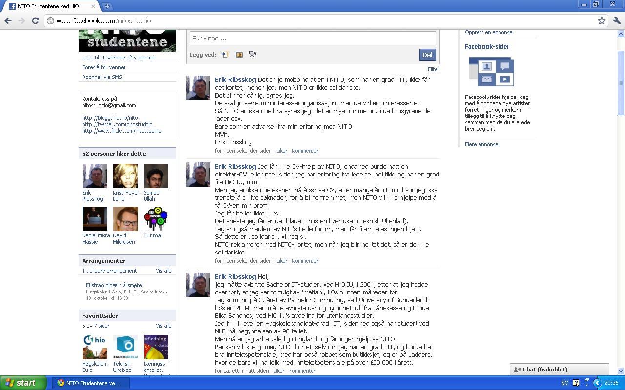 klage nito facebook