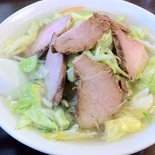 タンメン焼豚のせ