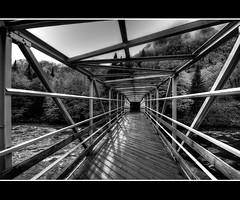 Le passage (T.P Photographie) Tags: bridge de la quebec cartier pont nuage jacques parc brume