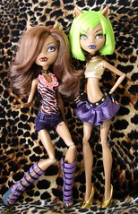 clawdeens (Laila X) Tags: monster high wolf doll dolls mattel dotd clawdeen dawnofthedance