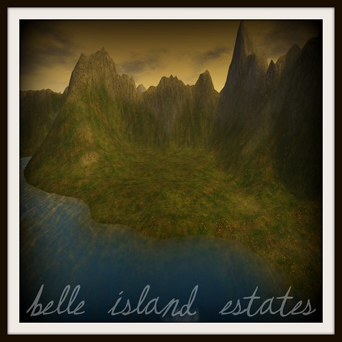 Belle Island Estates Ad